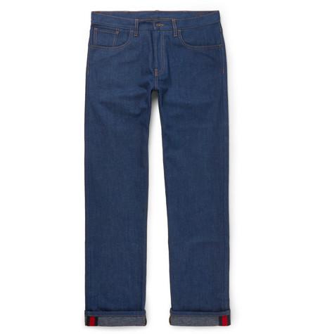 gucci male 201920 gucci denim jeans blue