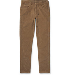 Gucci Skinny-Fit Stretch-Cotton Corduroy Trousers