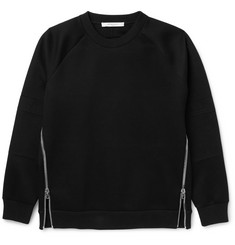 Givenchy Zip-Detailed Jersey Sweatshirt