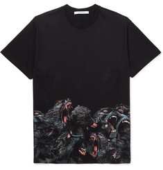 Givenchy Monkey Brothers Columbian-Fit Printed Cotton-Jersey T-Shirt