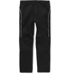 Givenchy - Tapered Zip-Detailed Jersey Sweatpants