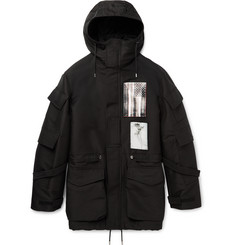 Givenchy Patch-Embellished Cotton-Blend Canvas Parka
