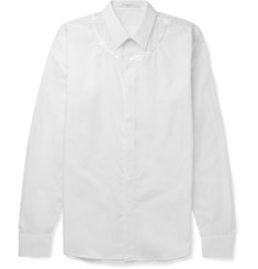 Givenchy Slim-Fit Embroidered Cotton Shirt