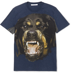 Givenchy - Rottweiler-Print Cotton-Jersey T-Shirt