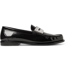 Givenchy Polished-Leather Penny Loafers
