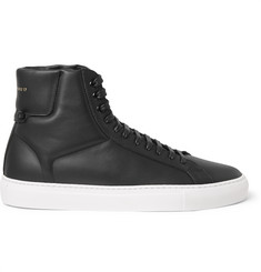 Givenchy High-Top Leather Sneakers