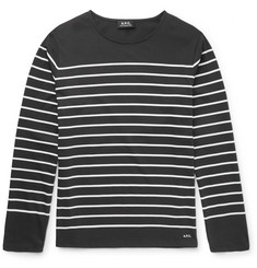 MR PORTER 5th ANNIVERSARY + A.P.C. Breton-Striped Cotton T-Shirt