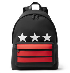 Givenchy - Leather-Trimmed Neoprene Backpack
