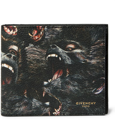 Givenchy Monkey Brothers Printed Faux Leather Billfold Wallet