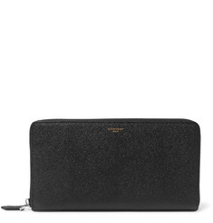 Givenchy Grained-Leather Travel Wallet