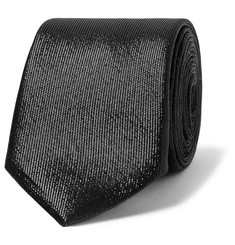 Givenchy Metallic Silk Tie