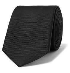 Givenchy Embroidered Silk-Faille Tie