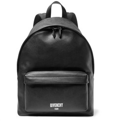 Givenchy - Polished Pebble-Grain Leather Backpack
