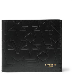 Givenchy Embossed Leather Billfold Wallet