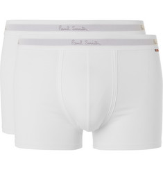 Paul Smith - Two-Pack Stretch-Cotton Boxer Briefs
