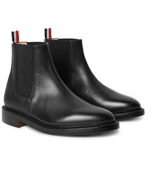 Thom Browne - Pebble-Grain Leather Chelsea Boots