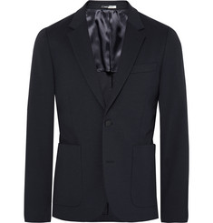 PS by Paul Smith Navy Slim-Fit Stretch Cotton-Blend Blazer