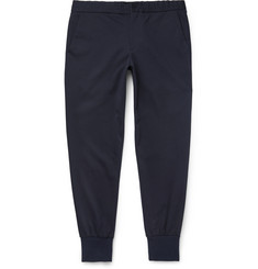 PS by Paul Smith - Tapered Stretch Cotton-Blend Trousers