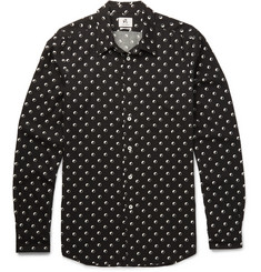 PS by Paul Smith Slim-Fit Printed Voile Shirt