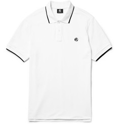 PS by Paul Smith Contrast-Tipped Cotton-Piqué Polo Shirt