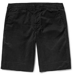 PS by Paul Smith Brushed Stretch-Cotton Twill Shorts