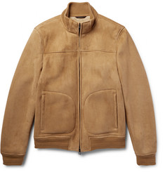 Loro Piana Shearling Bomber Jacket
