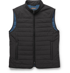 Loro Piana Quilted Storm System® Shell Gilet