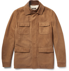 Loro Piana Nubuck Field Jacket