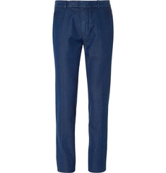 TOM FORD - Blue Slim-Fit Denim Trousers