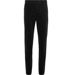 Polo Ralph Lauren Black Slim-Fit Stretch-Cotton Corduroy Suit Trousers