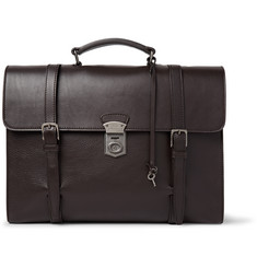 Dolce & Gabbana Siracusa Grained-Leather Briefcase