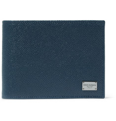 Dolce & Gabbana Grained-Leather Billfold Wallet