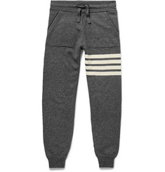 Thom Browne Striped Cashmere Sweatpants