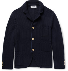 Thom Browne Ribbed Wool Cardigan