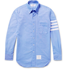 Thom Browne - Slim-Fit Striped Cotton Oxford Shirt