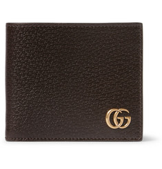 Gucci Marmont Textured-Leather Wallet