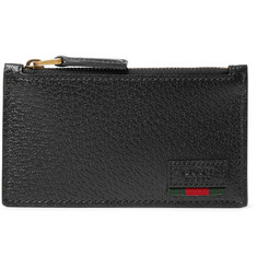Gucci Textured-Leather Cardholder