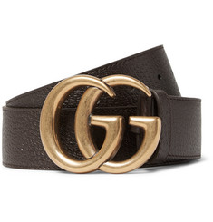 Gucci 4cm Brown Leather Belt