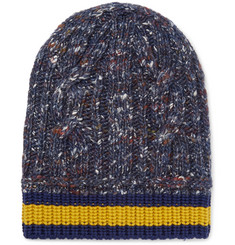 Gucci - Striped Wool, Alpaca and Silk-Blend Beanie