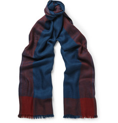 Loro Piana Exmoor Cashmere and Silk-Blend Scarf