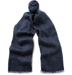 Loro Piana - Dorset Linen and Baby Cashmere-Blend Scarf