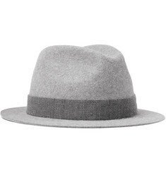 Loro Piana Kirk Hare and Cashmere-Blend Felt Trilby