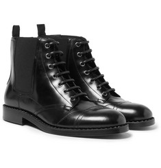 Jimmy Choo - Jules Polished-Leather Boots