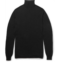 Rick Owens Oversized Wool Rollneck Sweater