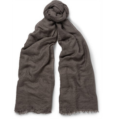 Rick Owens Cashmere and Silk-Blend Scarf