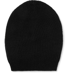 Rick Owens Ribbed-Knit Cashmere-Blend Beanie