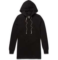 Rick Owens Oversized Cotton-Jersey Hoodie