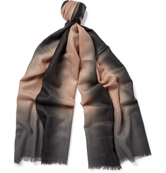 Paul Smith Dip-Dyed Cashmere Scarf