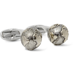 Paul Smith Globe Silver-Tone Cufflinks