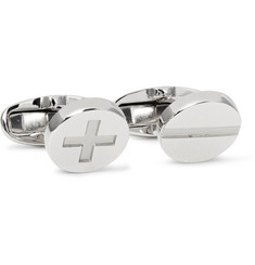 Paul Smith Screw Head Silver-Tone Cufflinks